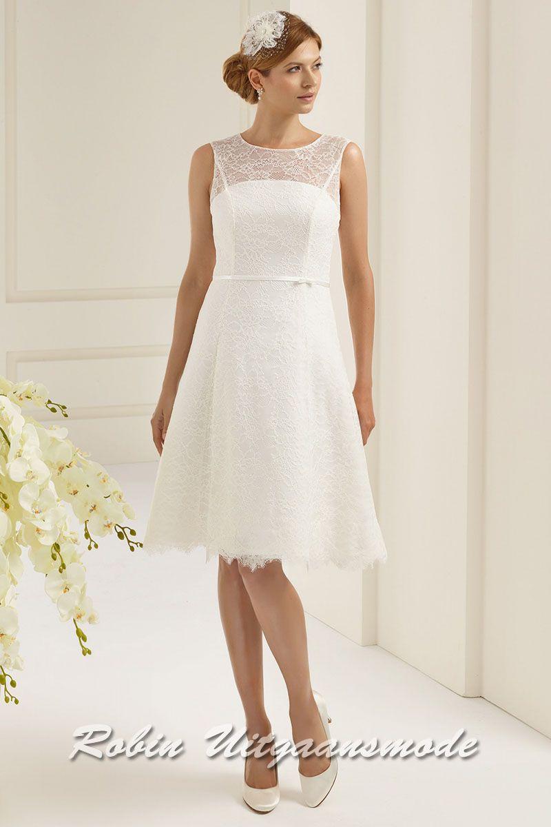 witte jurkjes met kant
