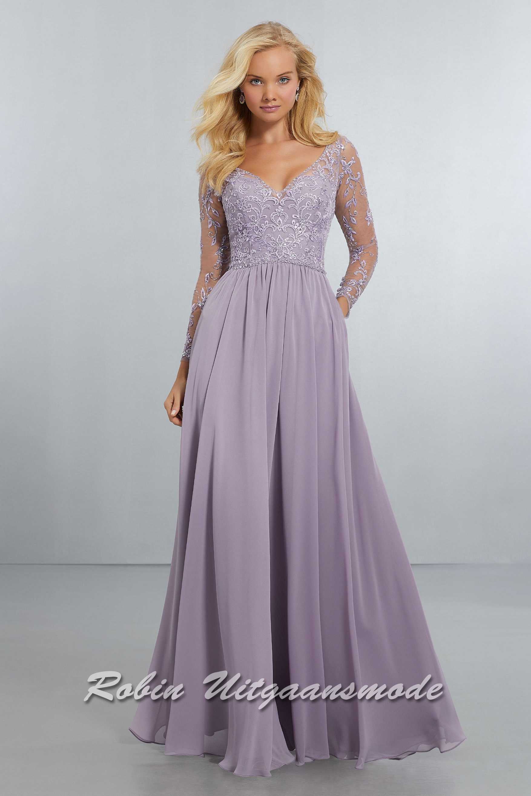 Evening Gowns With Sleeves Long Sleeve Prom Dresses Robin