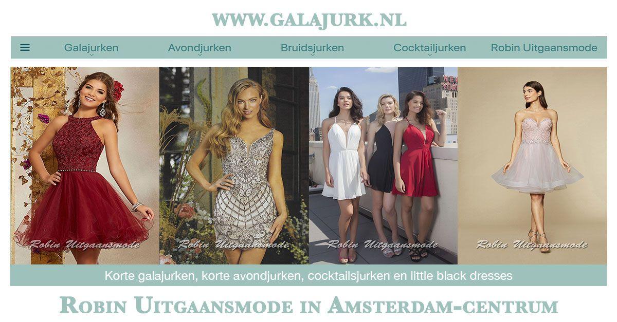 Galajurken Amsterdam Centrum.Cocktailjurken Korte Jurkjes Voor Gala S En Feesten Robin