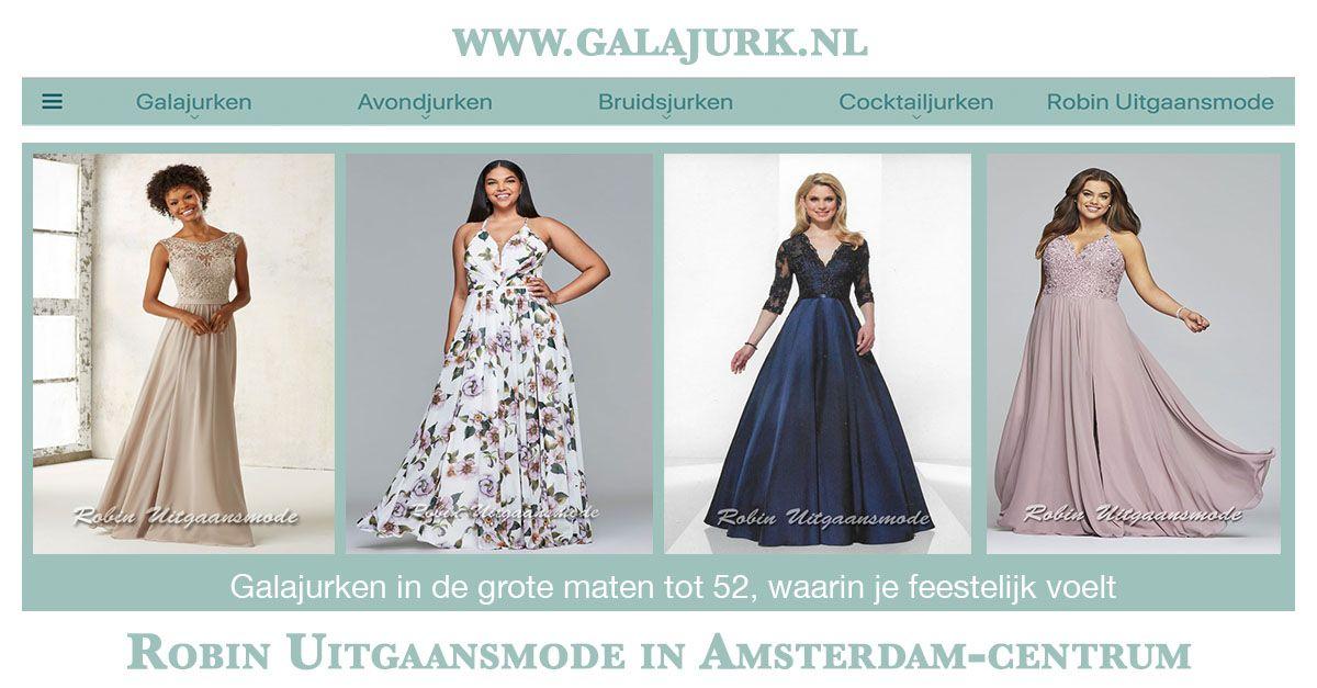 Galajurken Amsterdam Centrum.Grote Maten Galajurken Mooie Jurken Tot Maat 52 Robin
