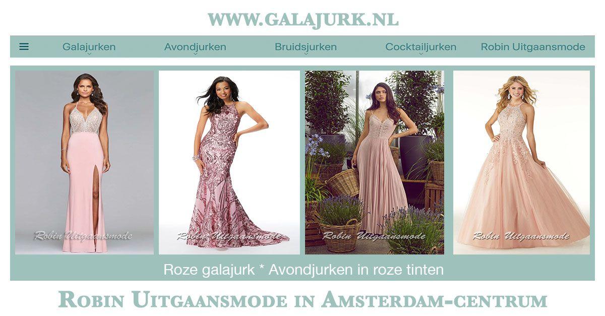 Galajurken Amsterdam Centrum.Roze Galajurken Jurken In De Vrouwelijke Tinten Robin