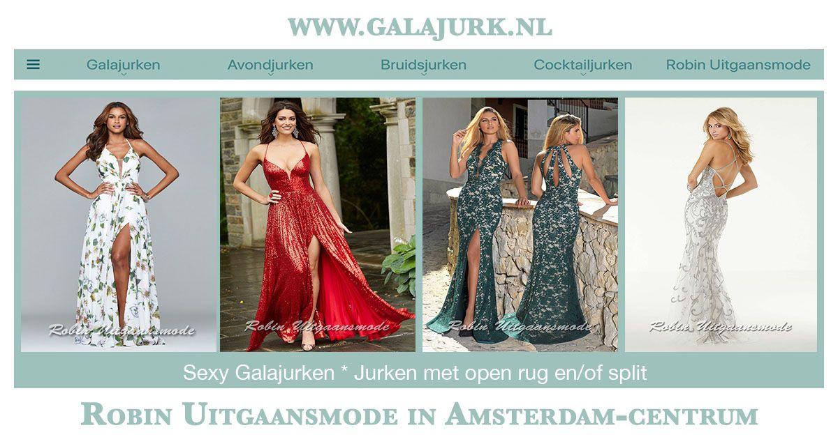 Galajurken Amsterdam Centrum.Sexy Galajurken Galajurk Met Open Rug En Of Split Robin